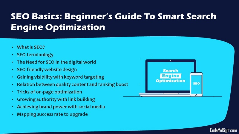 SEO Basics: Beginner's Guide To Smart Search Engine Optimization