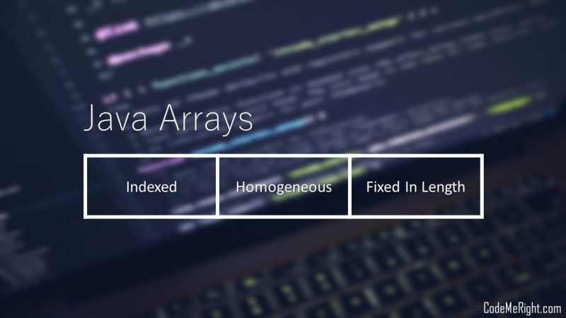 How To Create An Array In Java