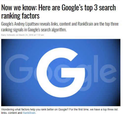 top ranking factors search engine land